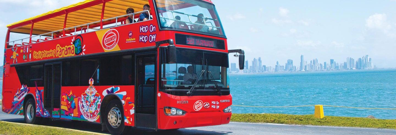 Ônibus turístico da Cidade do Panamá