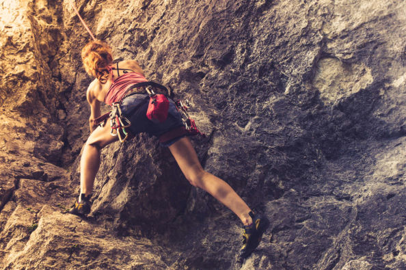 Climbing in Chilina Valley