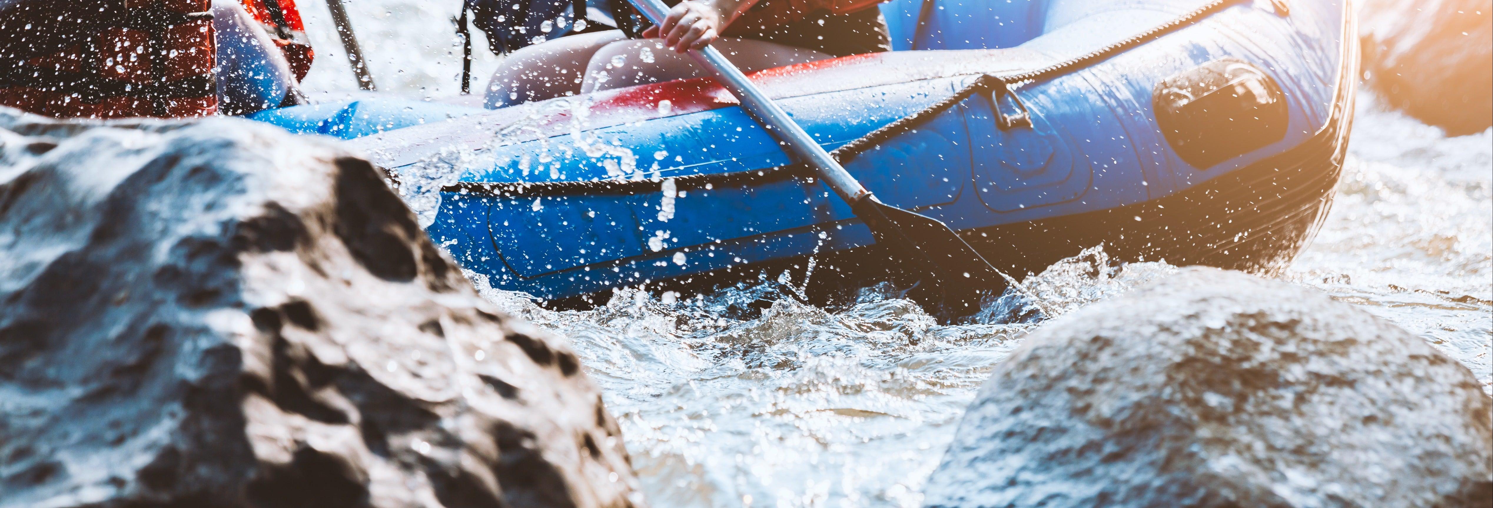 Rafting no rio Chili