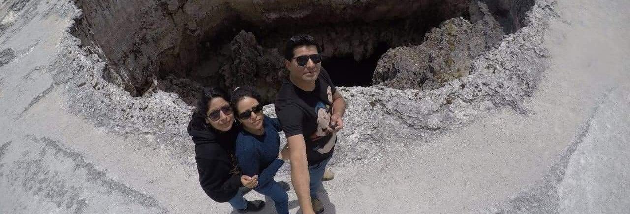 Excursión al volcán de Pachapupum