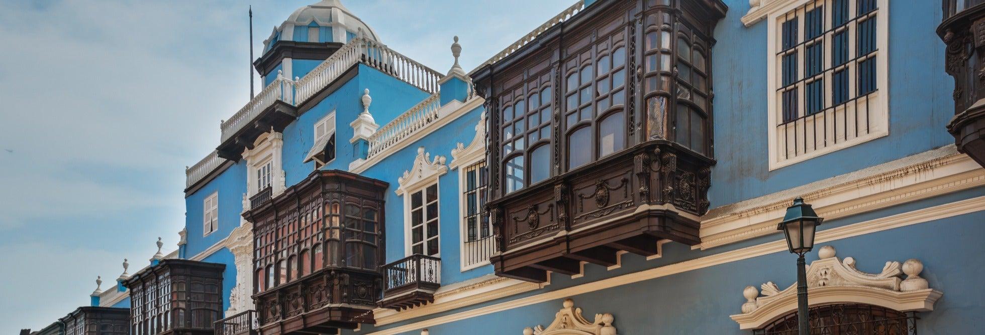 Tour pelas casas coloniais de Lima