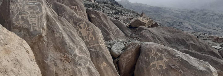 Excursión a los petroglifos de Huancor