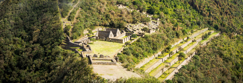 Ruta de 4 días de trekking por Choquequirao