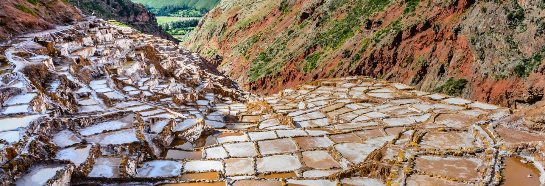 Moray e salineras de Maras de bicicleta ou quad saindo de Cusco