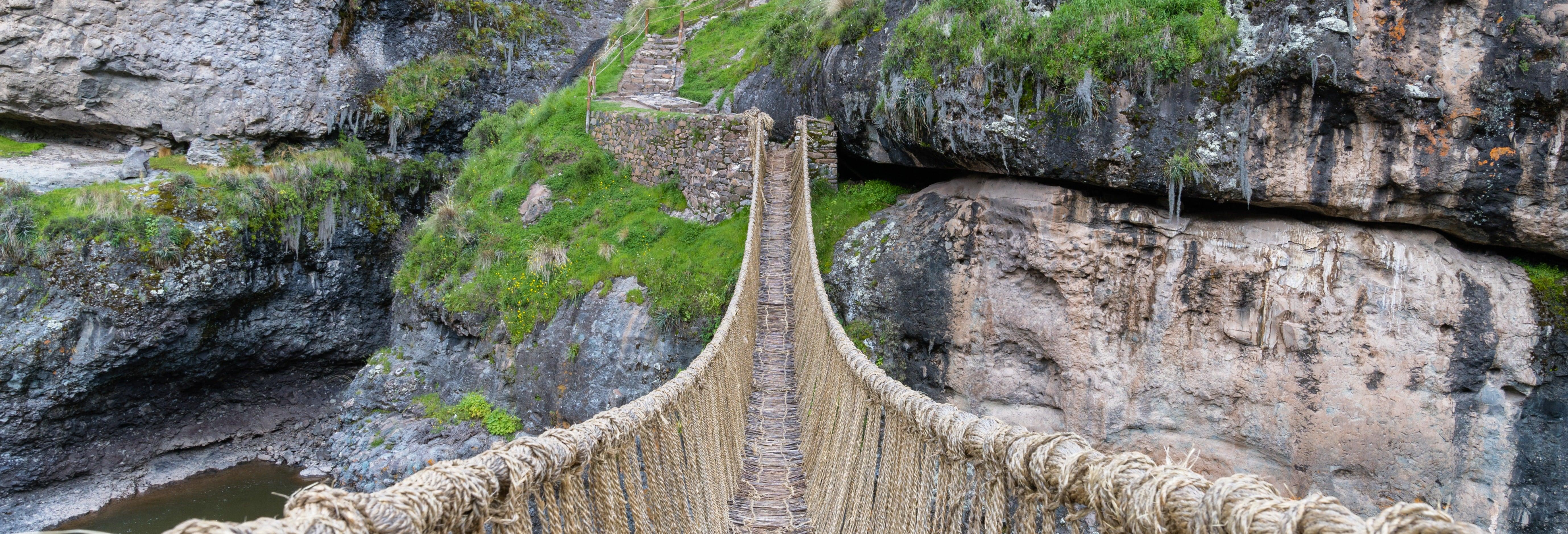 Excursión al puente Inca Q'eswachaka