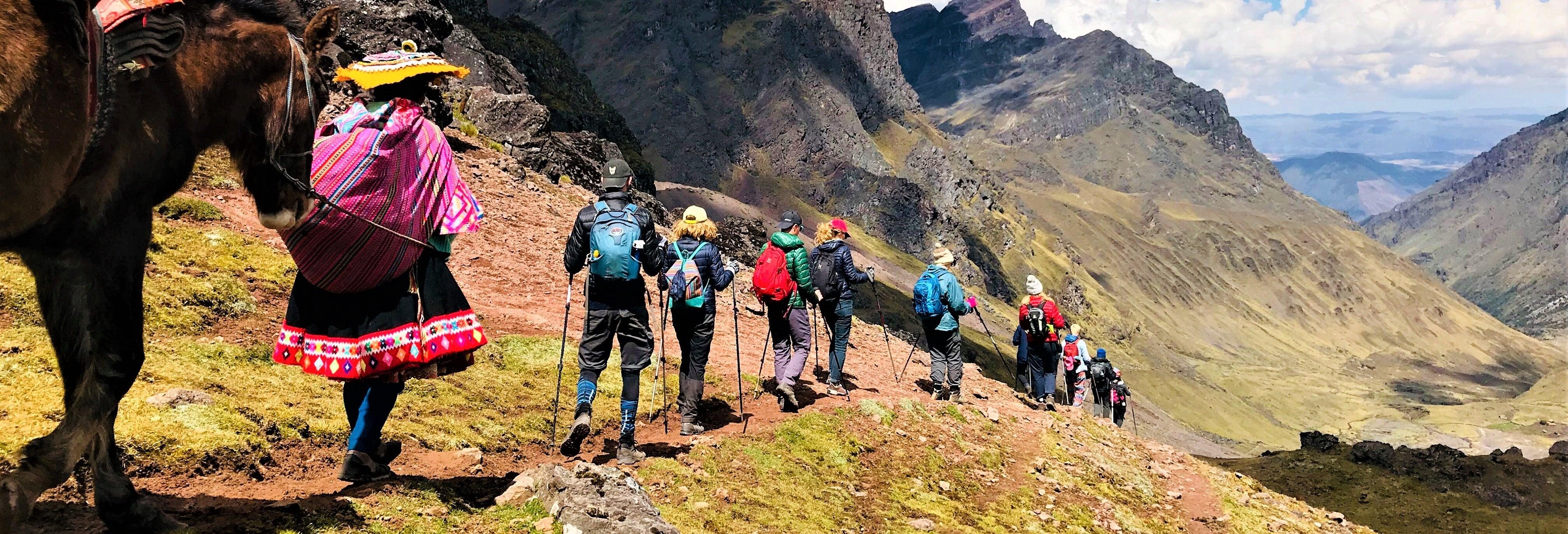 Ruta de 4 días a Machu Picchu por la Cantera Inca