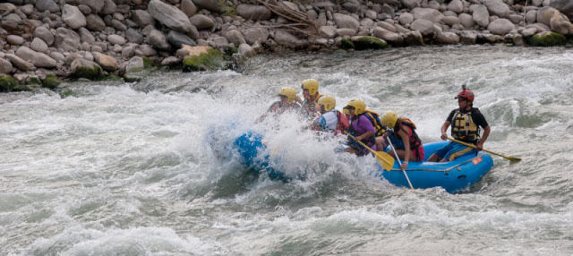 Urubamba River Rafting and Valle Sur Zip Line