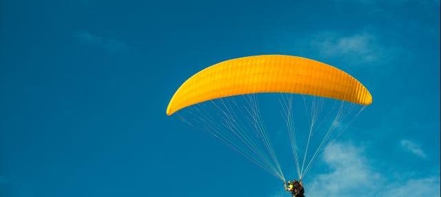 Vol en parapente dans la Vallée Sacrée des Incas