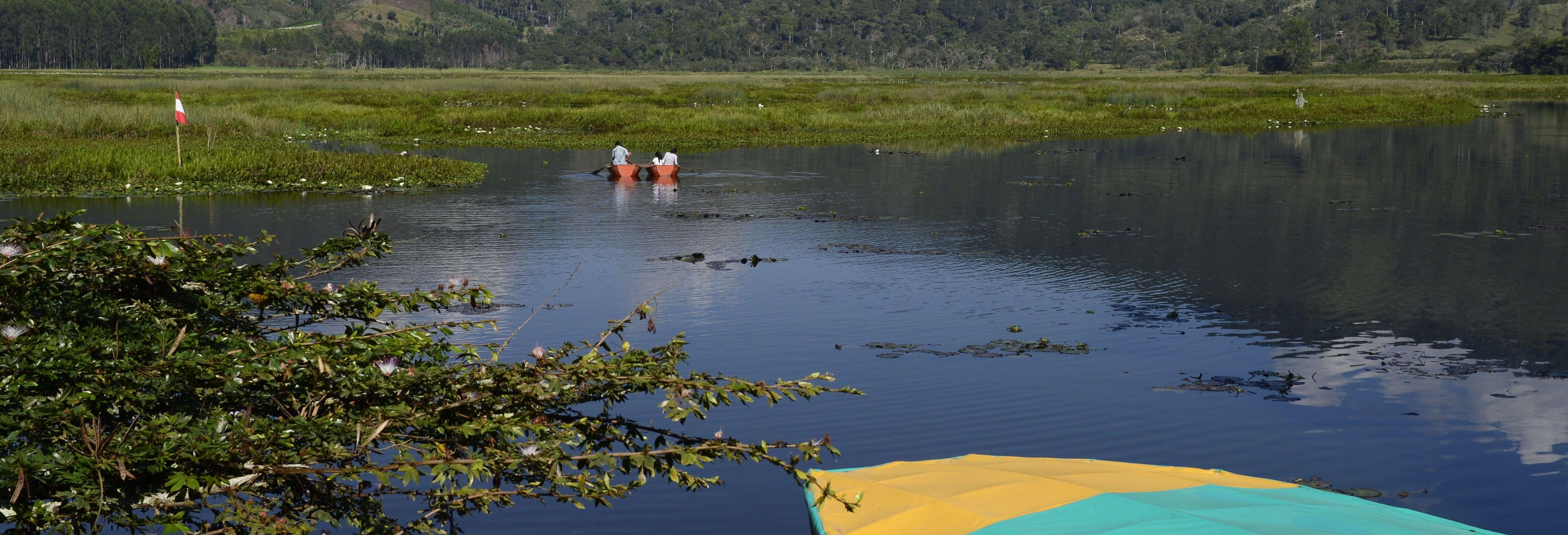 Excursão a Villa Rica e lagoa El Oconal