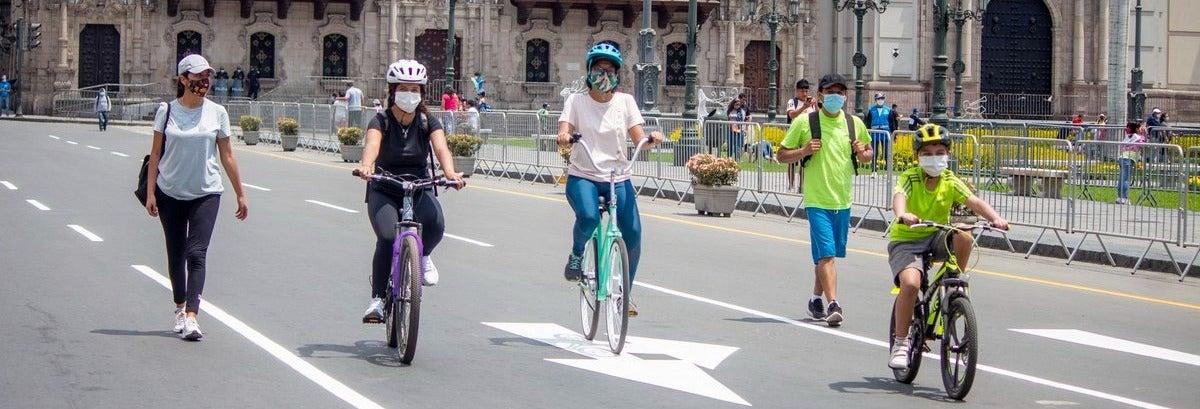 Aluguel de bicicleta em Lima