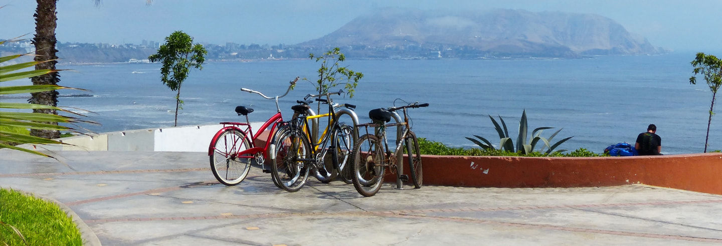 Tour di Miraflores e Barranco in bici