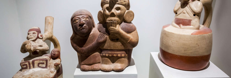 Tour pelo Museu Larco Herrera e Huaca Pucllana
