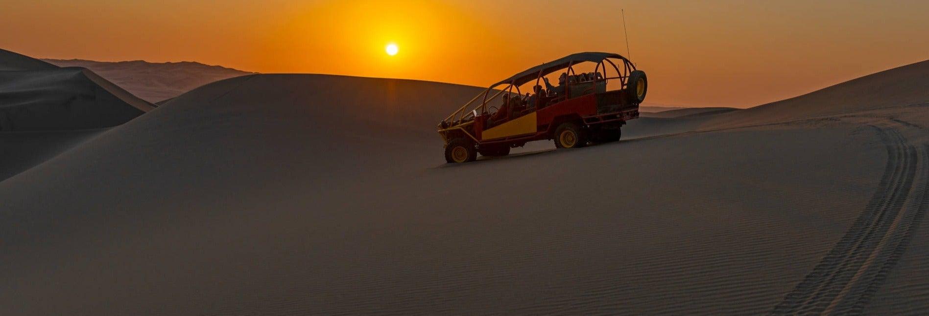 Buggy e sandboarding nel deserto di California