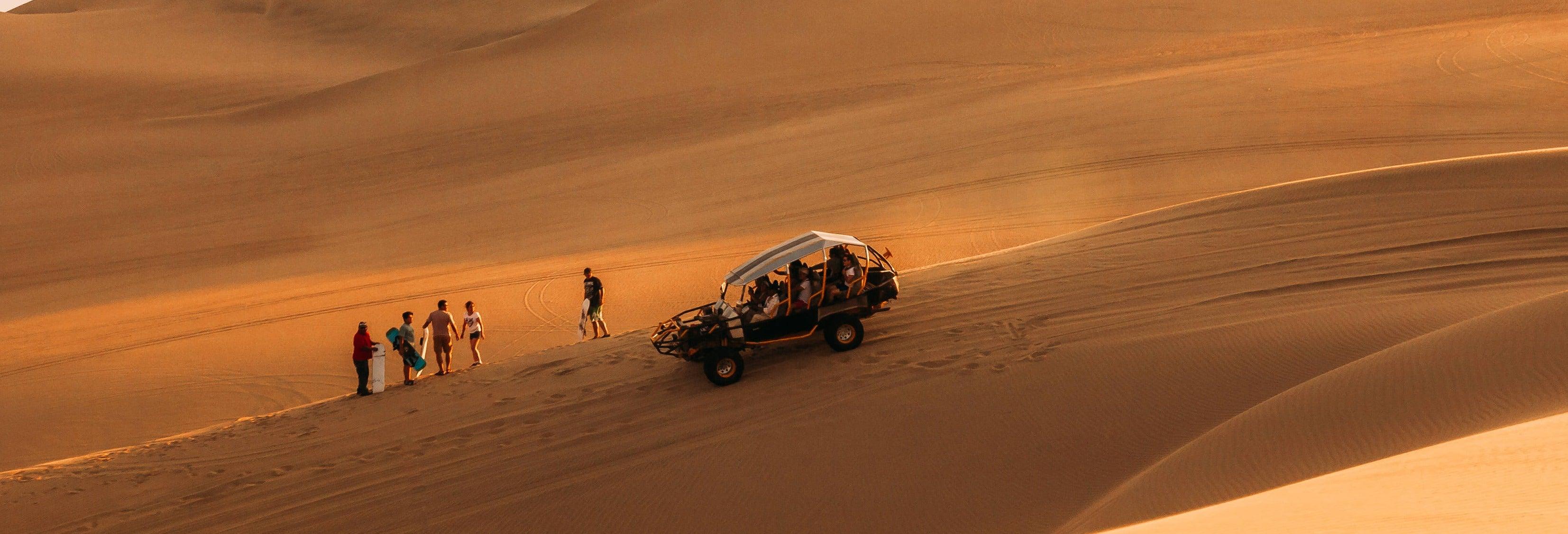 Tour de buggy pelo norte do deserto de Califórnia
