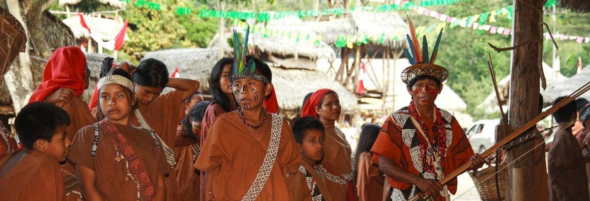 Visita a uma comunidade ashaninka