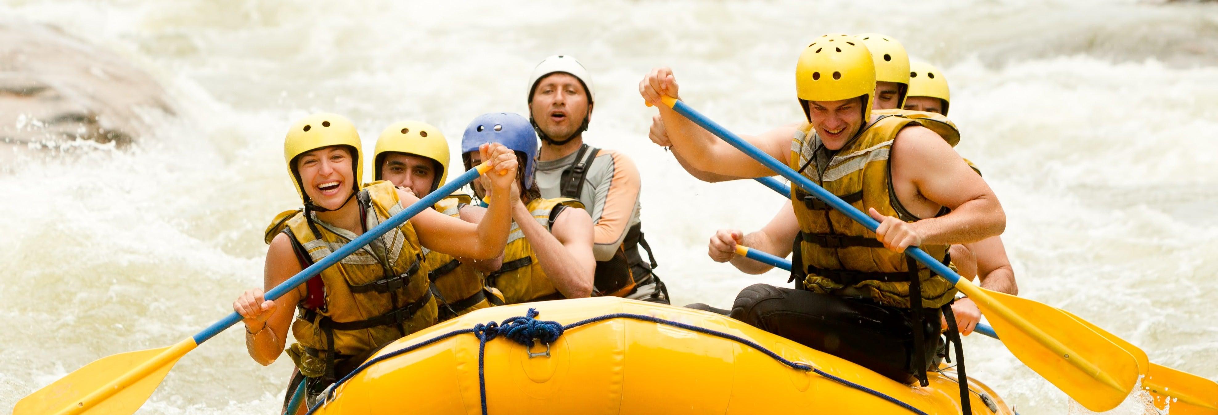 Rafting en el río Mayo