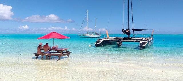 Balade privée en catamaran