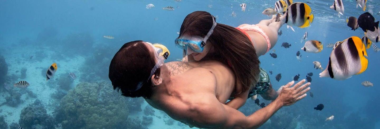 Bora Bora en 4x4 + Snorkel con tiburones
