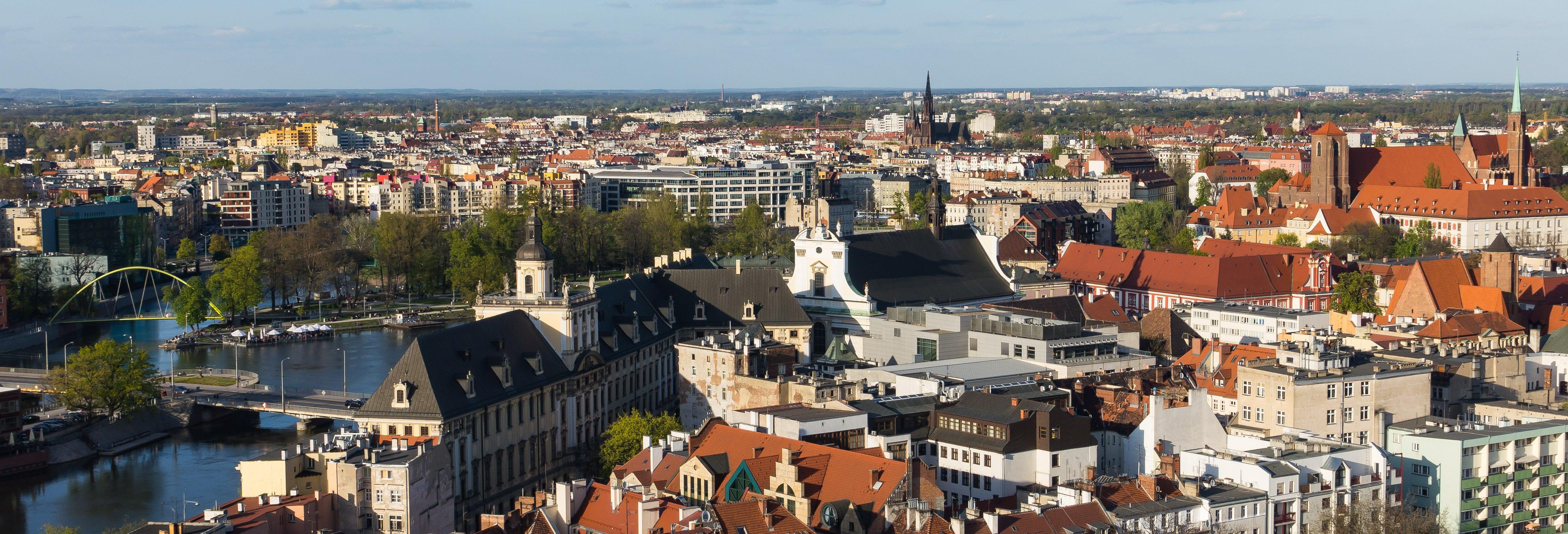 Visite privée dans Wroclaw avec guide francophone
