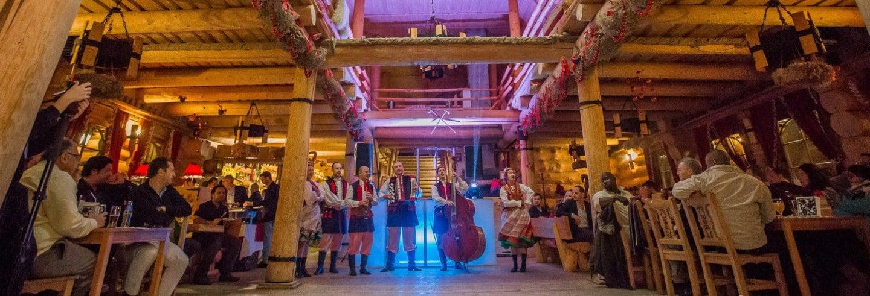Espetáculo de folclore polaco com jantar