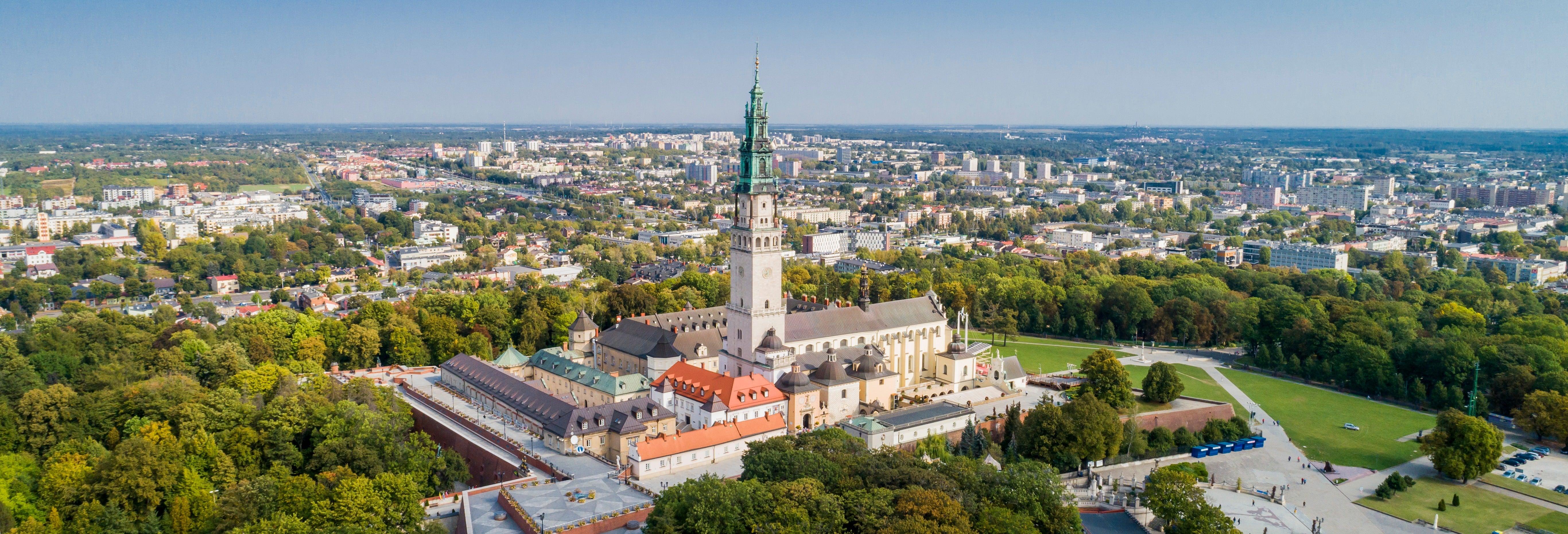 Visite de Częstochowa et de la Vierge noire