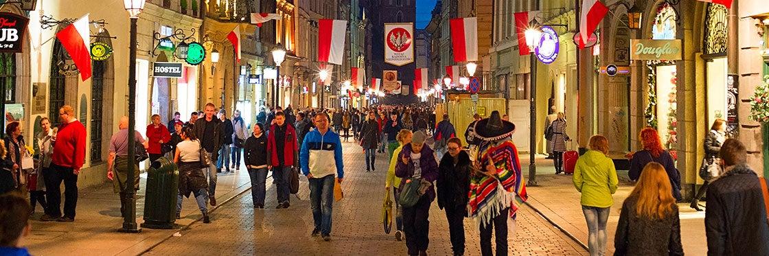 Compras em Cracóvia