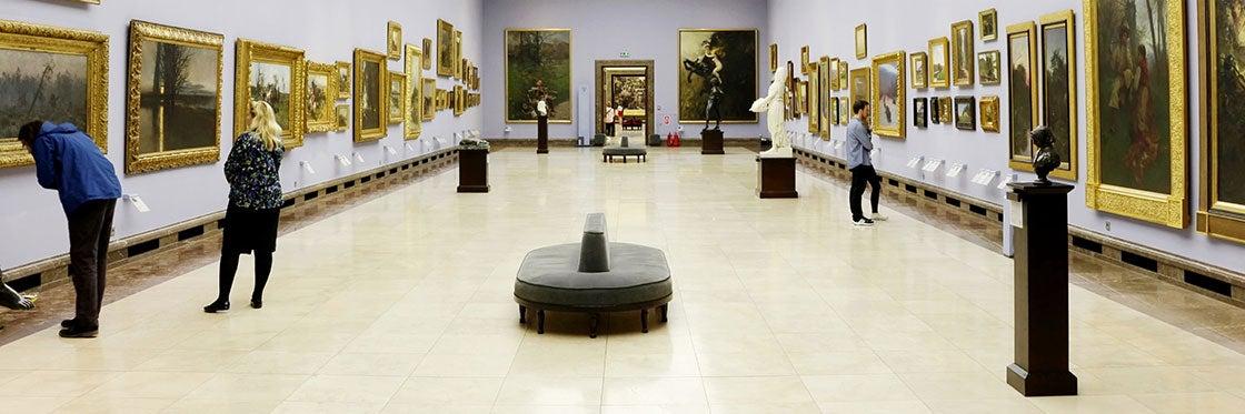 19th Century Polish Art Gallery