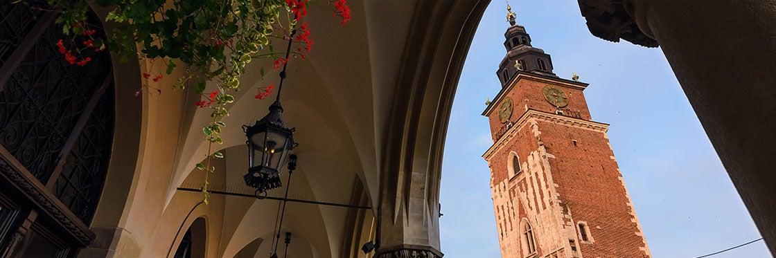 Torre del Vecchio Municipio di Cracovia