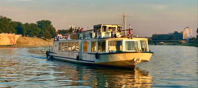 Giro in barca sul fiume Vistola