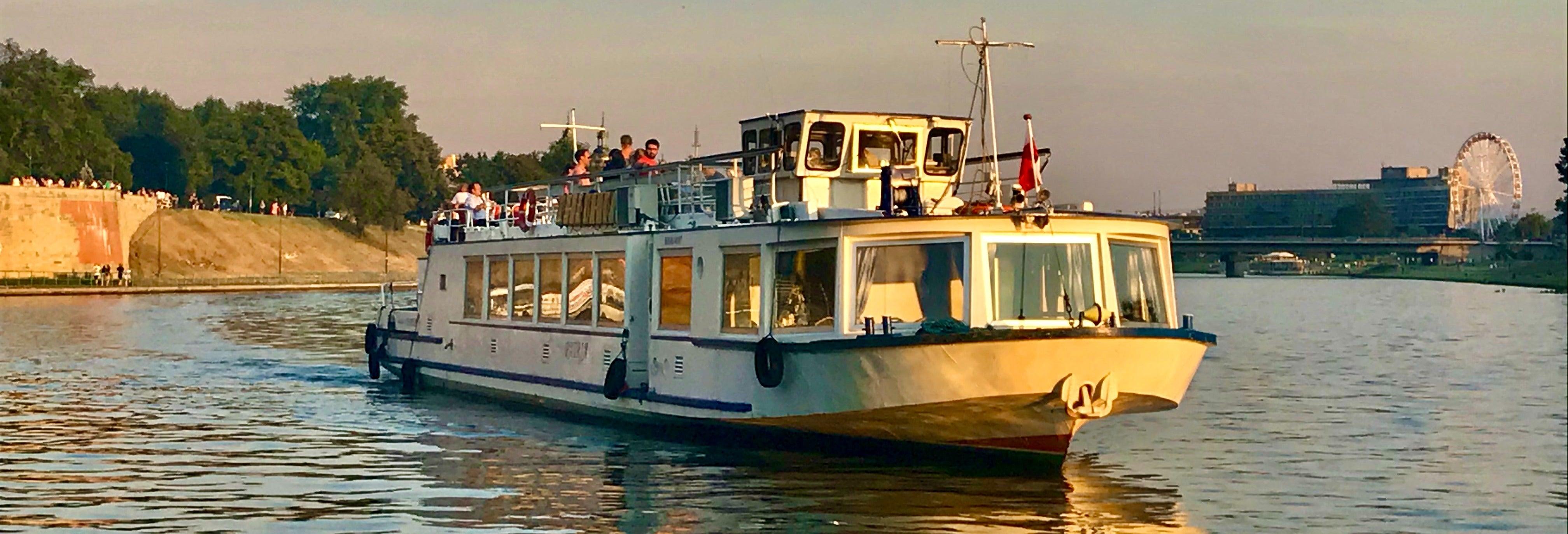 Paseo en barco por el río Vístula