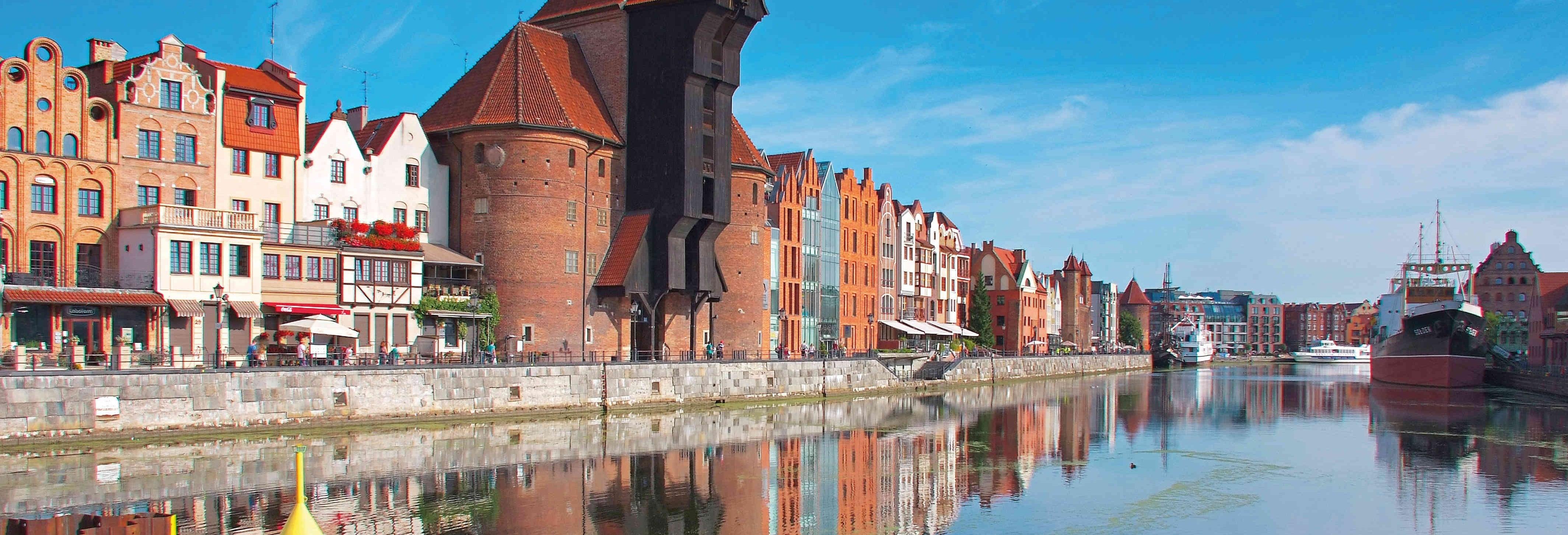 Paseo en barco por Gdansk