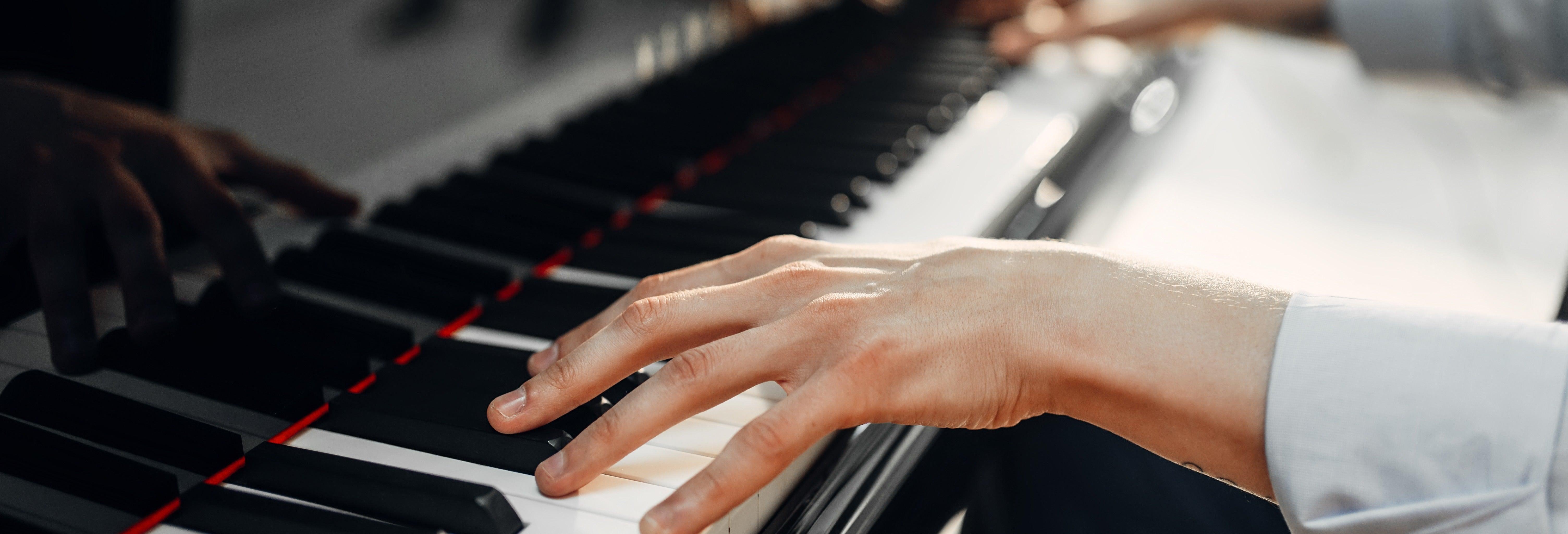 Concerto de piano com música de Chopin