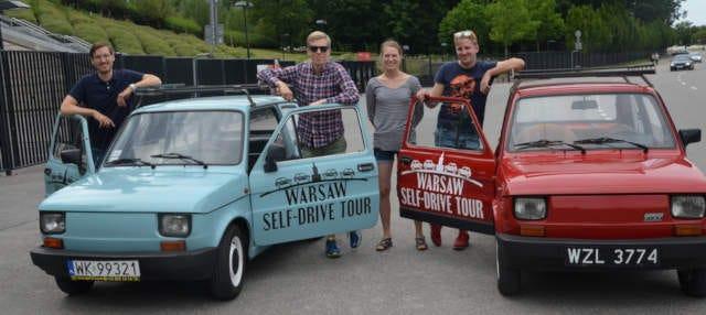 Retro Fiat Self-Drive Tour