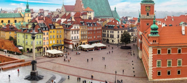 Free Walking Tour of Warsaw