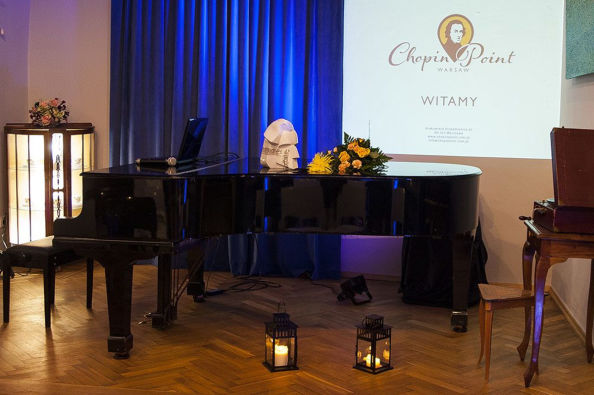 Chopin Point Warsaw concert hall