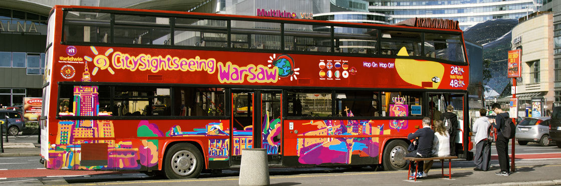 Autobús turístico de Varsovia