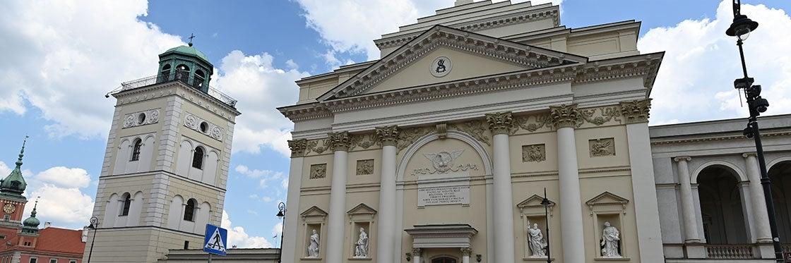 Igreja de Santa Ana em Varsóvia
