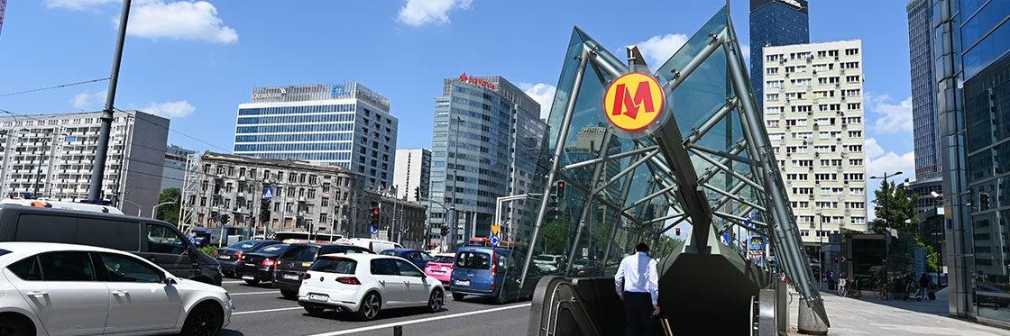 Metrô em Varsóvia