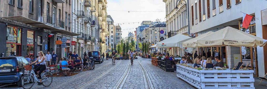 O distrito de Praga