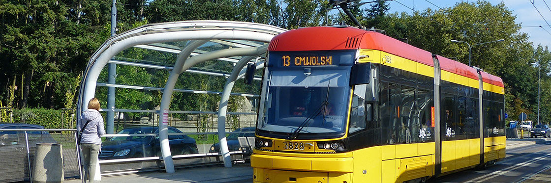 Tram à Varsovie