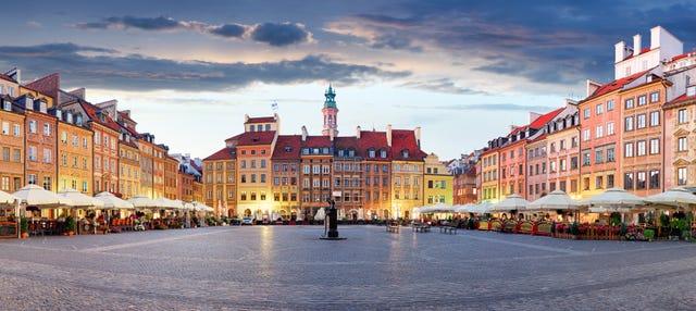 Tour privato di Varsavia