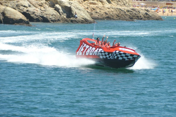 Adrenaline-filled jet boat experience