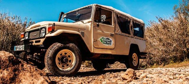 Jeep safari por Albufeira de medio día