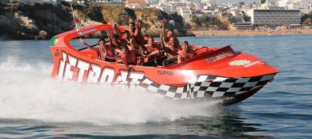 Experiencia Jet Boat en Albufeira