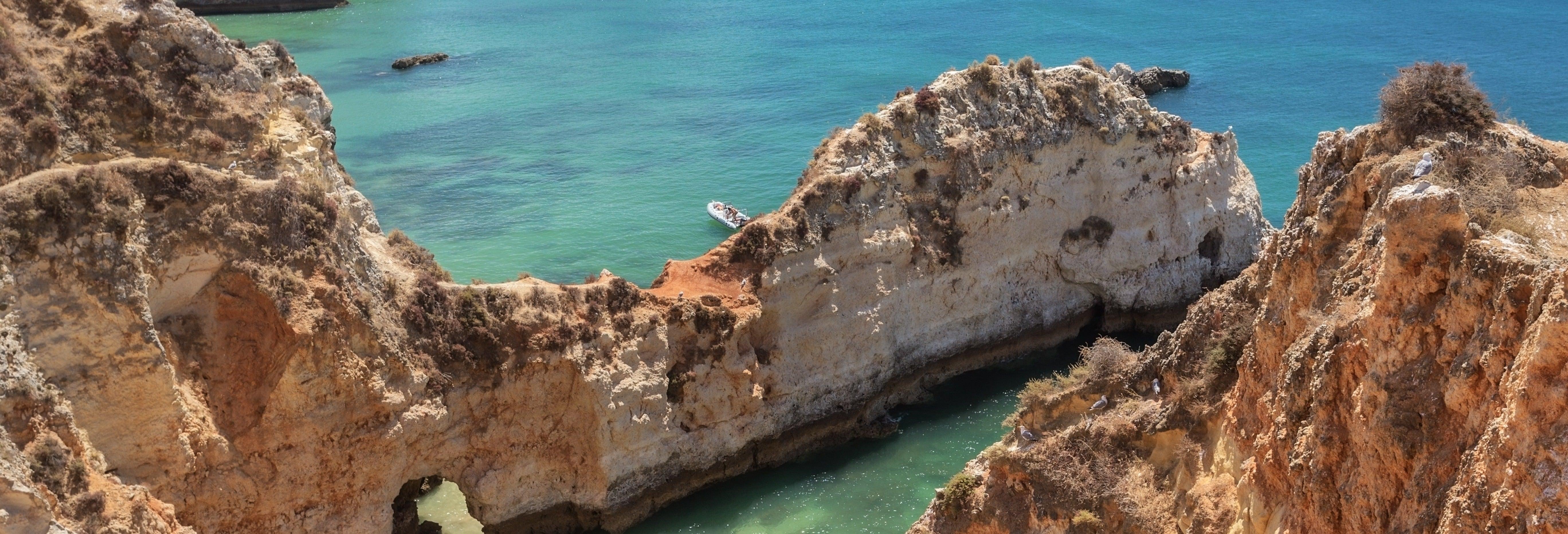 Tour en kayak por Albufeira