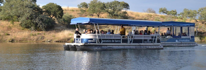 Paseo en barco por el lago Alqueva
