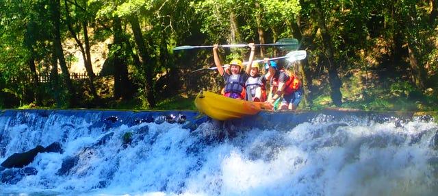Tour en kayak por el río Vez