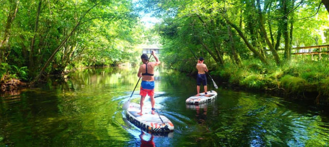 Tour en paddle surf por el río Vez