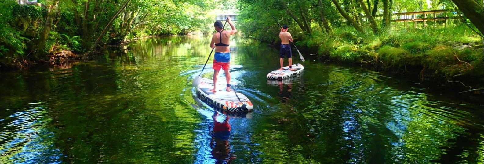Paddle Surf Tour on Vez River