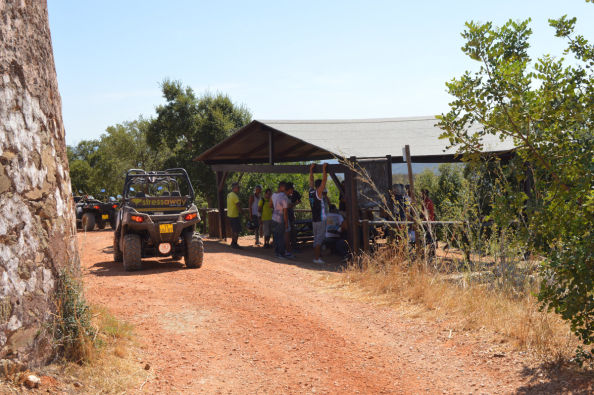 Tour dell'Algarve in buggy